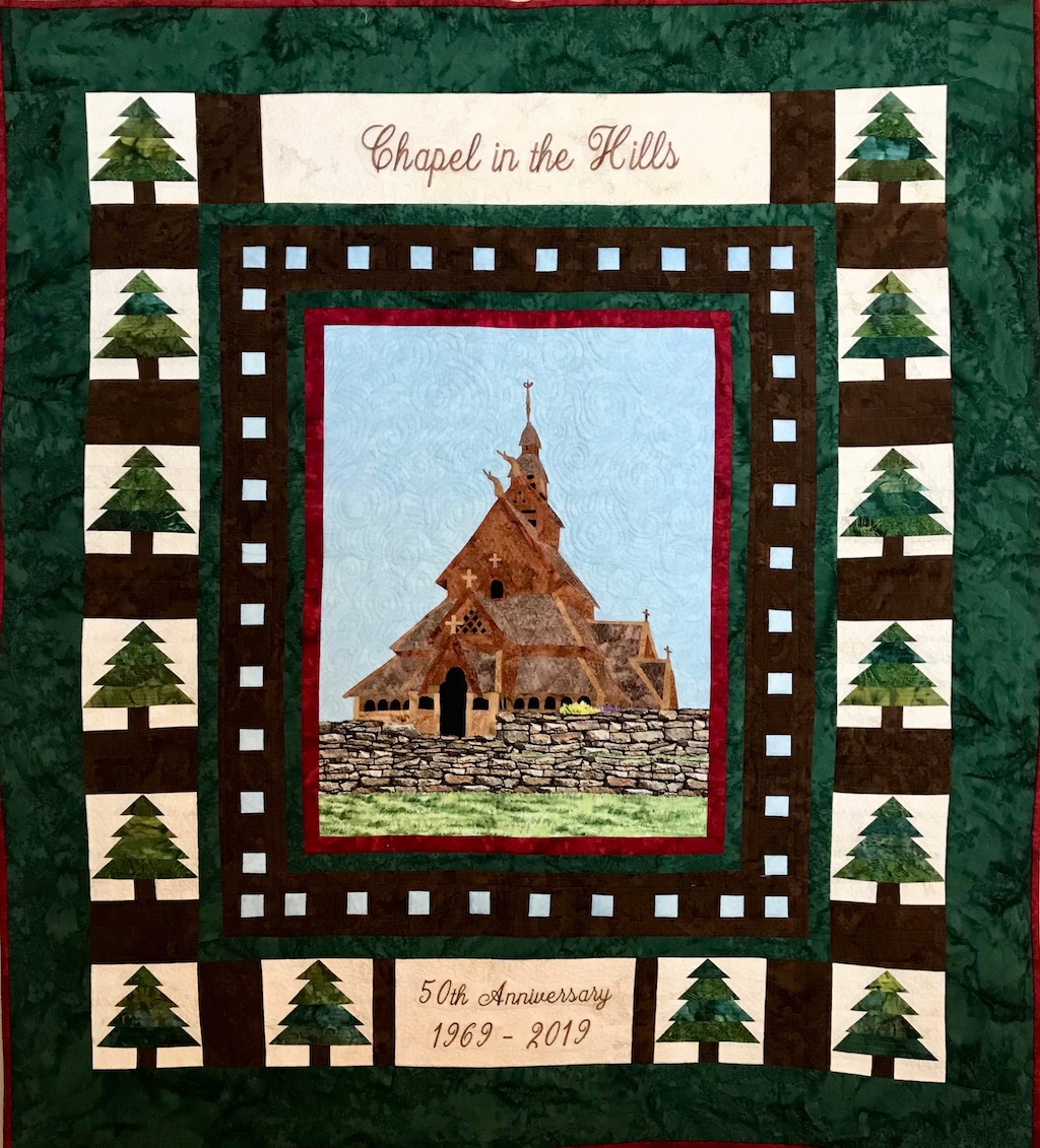 Chapel in the HIlls Quilt